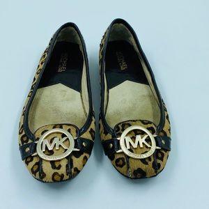 Michael Kors Calf Hair Cheetah Flats 6